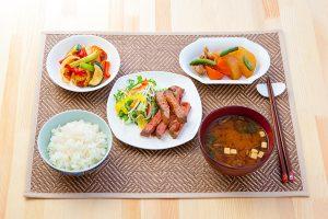 たまプラーザ駅前のキッチンスタジオで撮影された料理写真