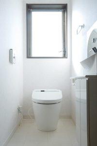 マンションのトイレを撮影した写真