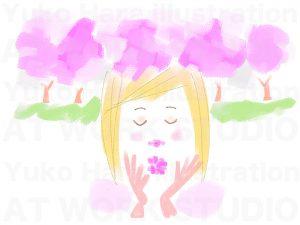 イメージイラスト|桜の季節
