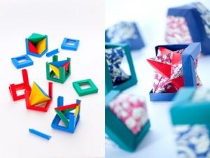 布施知子作『ユニット折紙』作品の写真