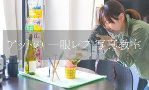 一眼レフ写真教室へのリンク画像:プロカメラマンが教える横浜の写真教室でのフォトレッスンの様子を撮影した写真