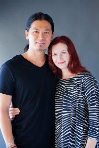 起業家夫妻のプロフィール写真