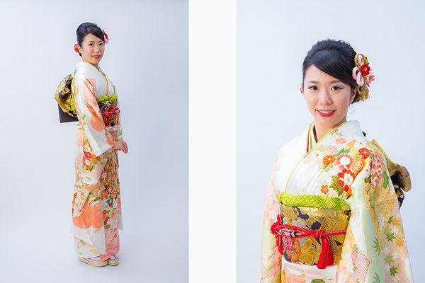 横浜市青葉区の写真館で撮影した成人式の前撮り写真