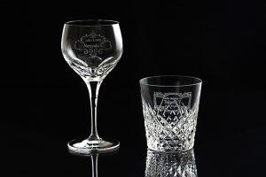 東京のスタジオで撮影されたグラスとタンブラーの商品写真