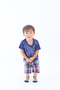 お誕生日記念の男の子の写真