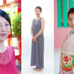横浜のプロカメラマンが神社に出張して記念日のママを女優のように撮影した写真