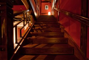 レストランの階段の写真