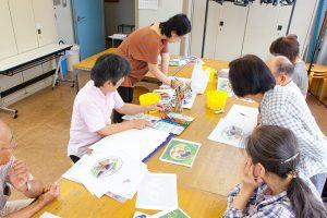 横浜の出張フォトグラファーが撮影したレッスン中の福井良佑先生の写真