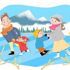イラストレーターはらゆうこ 『家族のライフスタイル 冬』